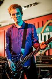 Rob Coyne, bajista de The Barracudas (Satélite T, Bilbao, 2016)