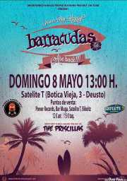 Cartel de The Barracudas (Satélite T, Bilbao, )