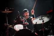 "Mark ""Marko"" Lira, baterista de Trouble (Santana 27, Bilbao, 2016)"