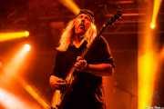 Bruce Franklin, guitarrista de Trouble (Santana 27, Bilbao, 2016)