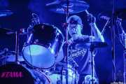 Tommy Buckley, baterista de Crowbar (Santana 27, Bilbao, 2016)