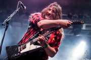 Dave Wheeler, guitarrista y cantante de Carousel (Santana 27, Bilbao, 2016)