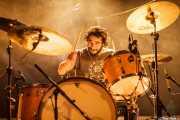 Matt Couto, baterista de Elder (Santana 27, Bilbao, 2016)