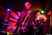 Andrea Bonfiglio, guitarrista de The Diesel Dogs (Phantom Club, Madrid, 2016)