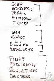Setlist de Pow Pow Pows (Phantom Club, Madrid, 2016)