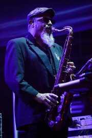 Steve Berlin, teclista, saxofonista y flautista de Los Lobos (Music Legends Fest, Sondika, 2016)