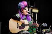 Nina Hagen, cantante y guitarrista de Nina Hagen Band (Music Legends Fest, Sondika, 2016)