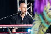 Fred Sauer, teclista de Nina Hagen Band (Music Legends Fest, Sondika, 2016)