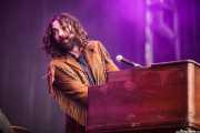 Julián Maeso, cantante, organista y guitarrista (Azkena Rock Festival, Vitoria-Gasteiz, 2016)