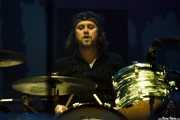 Robert Eriksson, baterista de The Hellacopters (Azkena Rock Festival, Vitoria-Gasteiz, 2016)