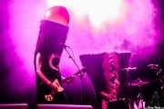 Bone -voz y guitarra- y Jackie Brutsche -voz y batería- de The Sex Organs (Azkena Rock Festival, Vitoria-Gasteiz, 2016)