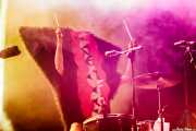 Jackie Brutsche, cantante y baterista de The Sex Organs (Azkena Rock Festival, Vitoria-Gasteiz, 2016)