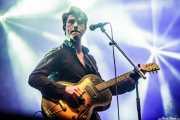 Luke Winslow-King, cantante, guitarrista, armonicista y dobro (Azkena Rock Festival, Vitoria-Gasteiz, 2016)