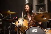"Tony Molina ""Antoñino Picante"", baterista de The Milkyway Express (Azkena Rock Festival, Vitoria-Gasteiz, 2016)"