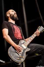 Josu Luengo, guitarrista de Cobra (Azkena Rock Festival, Vitoria-Gasteiz, 2016)
