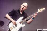 Aaron Spiers, bajista de RavenEye (Azkena Rock Festival, Vitoria-Gasteiz, 2016)