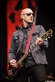 Dave Kettley, guitarrista de Radio Birdman (Azkena Rock Festival, Vitoria-Gasteiz, 2016)