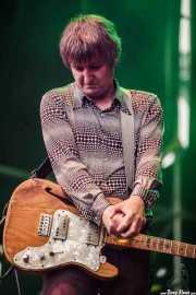 Tony Thewlis, guitarrista de The Scientists (Azkena Rock Festival, Vitoria-Gasteiz, 2016)