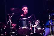 Lee Newell, baterista de Fields of the Nephilim (Azkena Rock Festival, Vitoria-Gasteiz, 2016)