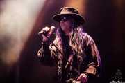 Carl McCoy, cantante de Fields of the Nephilim (Azkena Rock Festival, Vitoria-Gasteiz, 2016)