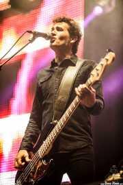 Jacinto Ríos, bajista de 091 (Azkena Rock Festival, Vitoria-Gasteiz, 2016)