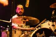 David Fernández, baterista de Vinila Von Bismark (Bilborock, Bilbao, 2016)