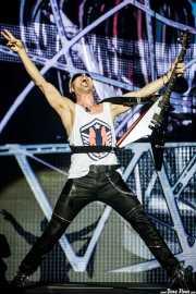 Rudolf Schenker, guitarrista de Scorpions (Bilbao Arena, Bilbao, 2016)