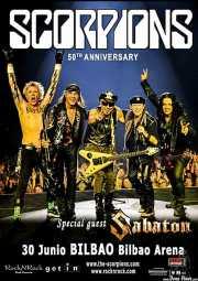 Cartel de Scorpions (Bilbao Arena, Bilbao, )