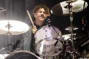 Jeremy Gara, baterista de Arcade Fire (Bilbao BBK Live, Bilbao, 2016)