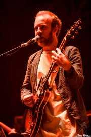 Al Doyle, guitarrista de Hot Chip (Bilbao BBK Live, Bilbao, 2016)