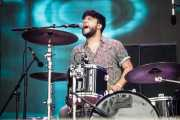 Víctor Sánchez-Pascuala, baterista de GreenClass (Bilbao BBK Live, Bilbao, 2016)