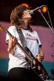 Courtney Barnett, cantante y guitarrista (Bilbao BBK Live, Bilbao, 2016)