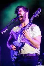 Yannis Philippakis, cantante y guitarrista de Foals (Bilbao BBK Live, Bilbao, 2016)