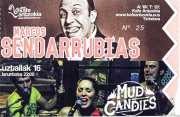 Entrada de Marcos Sendarrubias y Mud Candies (Kafe Antzokia, Bilbao, )