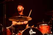 Jed Laidlaw, baterista de Sunset Sons (Mundaka Festival, Mundaka, 2016)