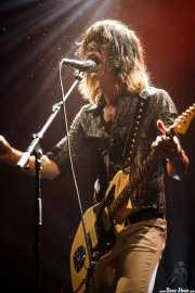 Martín Guevara, cantante y guitarrista de Cápsula (Mundaka Festival, Mundaka, 2016)