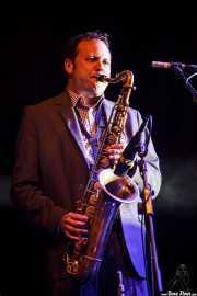 Jason Mingledorff, saxofonista de St. Paul & The Broken Bones (Mundaka Festival, Mundaka, 2016)