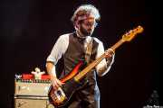 Jesse Phillips, bajista de St. Paul & The Broken Bones (Mundaka Festival, Mundaka, 2016)