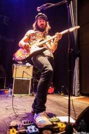 "Garikoitz ""Gari"" Pérez, cantante y guitarrista de Gerente (Bilborock, Bilbao, 2016)"