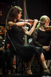 Violinistas de la BOS interpretando Voces de cine (Aste Nagusia - Abandoibarra, Bilbao, 2016)