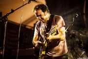 Joseba Irazoki, guitarrista y cantante de Joseba Irazoki eta lagunak (Aste Nagusia - Algara Txosna, Bilbao, 2016)
