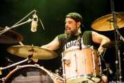 "Ibán Corral Álvarez ""Bolo"", baterista de Chivo (Bilborock, Bilbao, 2016)"