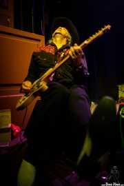 Terry Walley, guitarrista de Crazy Cavan & The Rhythm Rockers (Kafe Antzokia, Bilbao, 2016)