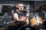 "Sam Carne ""Carnage"", baterista de Anti-Nowhere League (Gasteiz Calling, Vitoria-Gasteiz, 2016)"
