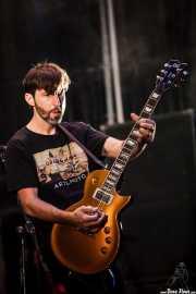 Kevin Kilkenny, guitarrista de Ignite (Gasteiz Calling, Vitoria-Gasteiz, 2016)