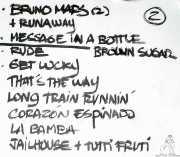 Setlist de Aire Libre (Submarino Amarillo, La Habana, 2016)