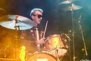 Evan Walsh, baterista de The Strypes (Kafe Antzokia, Bilbao, 2016)