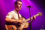 Jokin Madinabeitia, guitarrista de Ghost Number & His Tipsy Gypsies (Kafe Antzokia, Bilbao, 2016)