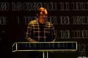 Ralf Hütter, teclista y cantante de Kraftwerk (Museo Guggenheim, Bilbao, 2016)