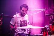 Danel Tralara, baterista de Dead Bronco (Santana 27, Bilbao, 2016)